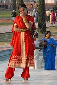 Moderne indische kleider
